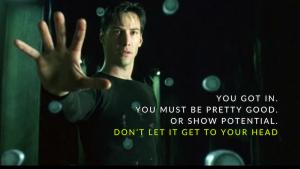 Fuck you, Mamet!, David Scott Hay, David Mamet, grad school, MFA programs, playwright, screenwriter, filmmaker, Keanu Reeves, the one, the matrix